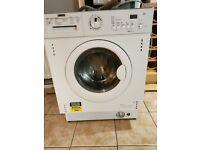 Zanussi ZWI 71401 WA Integrated Washing Machine - Faulty Drum Bearing! Spares or Repair