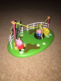 Peppa Pig Playset with Peppa and George Pig figures