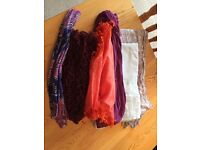 Women's Scarf Bundle x 6