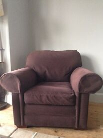 Large Sofa Worshop arm chair, really good condition, clean covers, very comfortable. £20.00