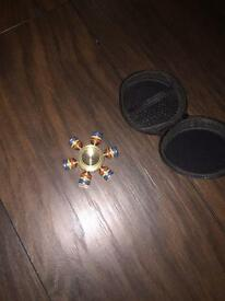 Heavy metal fidget spinner