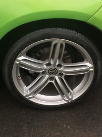 Alloy wheels rs6 reps