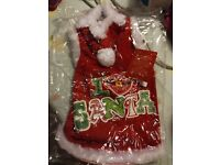 I Love Santa jumper size Medium (Dog) BNWT