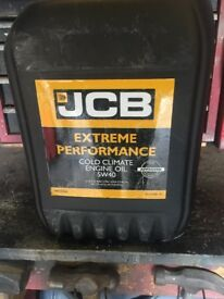 JCB 5w/40 engine oil