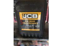 JCB 5w/40 engine oil