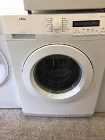White AEG 1200 Spin Washing Machine Fully Working Order Excellent Condition £125 Sittingbourne