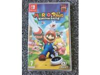 Mario+Rabbids Kingdom Battle nintendo switch- brand nr sealed