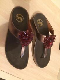 Ladies Bronze Fitflop Sandal