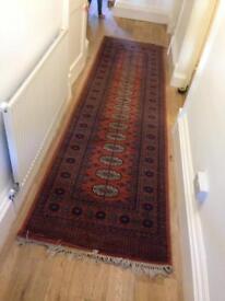 Antique rug runner carpet Persian