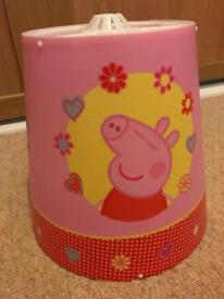 Child's Peppa Pig bedding set