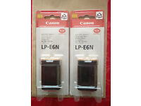 *NEW* Canon LP-E6N batteries for Canon 5D MK II / III / IV, 60D, 70D, 7D, 7D Mark II, and 6D