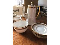 Antique Coffee Set - Royal Stafford Bone China