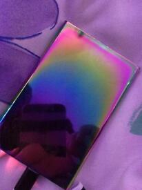 Urban outfitters rainbow coloured portable charger