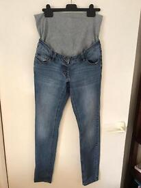 Next maternity jeans - over the bump size 12 Long