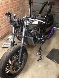 Honda Cbr650f breaking for spares 2015