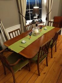 Dining Table & Eight Chairs