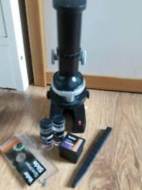 Vivitar microscope set