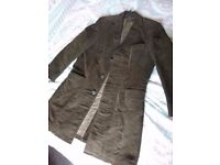 Men's Cotton Long Coat size M