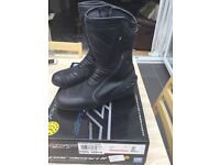 RST Paragon 11 size 10 motorcycle boots.
