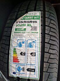 215 / 65 / 16 tyres (x4)