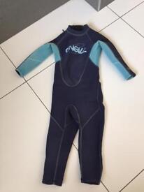 Kids O'Neil summer wetsuit. Size 2