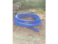 Drainage ducting blue water pipe