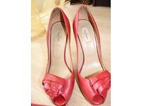 Genuine Valentino ladies heels size 6 - comes true to size