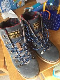 Superdry boots. Official. Size 10