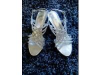 Bridesmaid/prom sandal