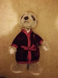 COMPARE THE MEERKAT OFFICIAL ALEXANDR PLUSH TOY - BRAND NEW *** save £££'s ***