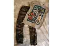 Boys 3 outfit bundle Next age 6