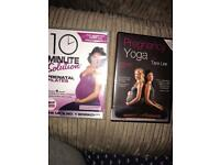 Pregnancy yoga/Pilates DVD