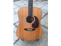 Martin HD-35 Acoustic Guitar with LR Baggs Anthem Pickup & Hard Case