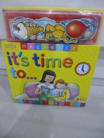 """Marks and Spencer Magnetic Book """"It's time to """""""