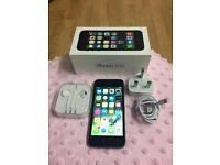 Apple I phone 5s space grey 16gb unlocked n fully boxed