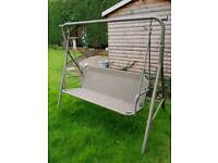 Outdoor two seater swing seat