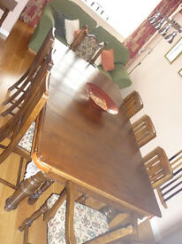 Antique Riley Snooker/Dining Table