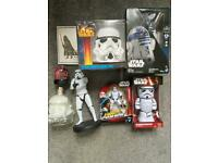 Star wars collection 8 items