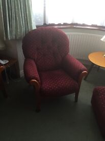 Ercol sofa and armchair