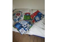 Marvel bedding curtains lampshade clock also ceiling lampshade still in box x