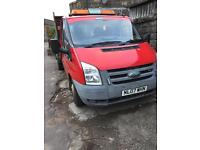 Ford transit tipper. 1 Years mot.