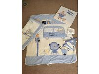 Baby Boys Next Cheeky Monkey Bedding Set