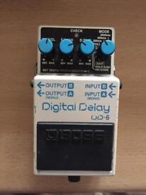Boss DD6 Digital Delay Pedal