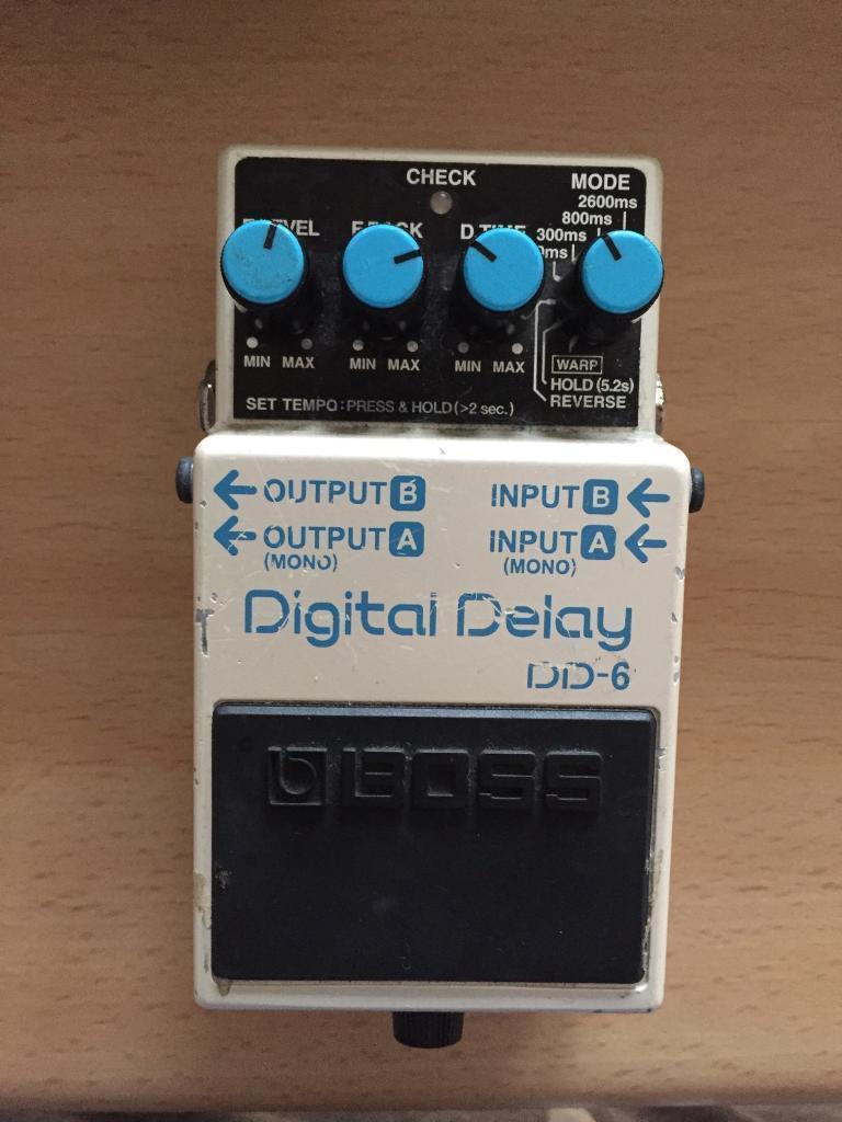 Boss Dd6 Digital Delay Pedal In West End Glasgow Gumtree 4x12 Speaker Cabinet Wiring Stereo Mono Google Groups