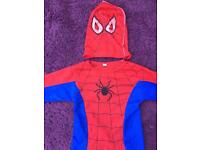 Spider-Man dressing up