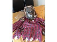 Kids Werewolf Dress up Halloween Costume