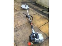 Petrol industrial strimmer brush cutter