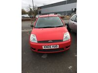 2005 FORD FIESTA 1.2 MOT UNTILL NEXT YEAR SERVICE HISTORY DRIVES VERY WELL