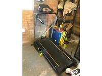 York fitness treadmill and cross trainer