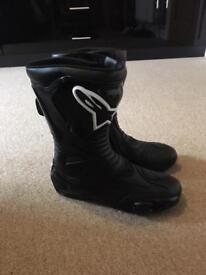 Brand new alpinestar motorbike boots